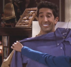 Ross's teeth